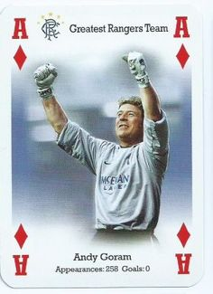 Andy Goram of Rangers in 1994.