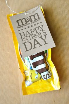 I like the M saying for a Thank You note.  I would remove the Father's Day saying since my Dad isn't much of a sweets eater.