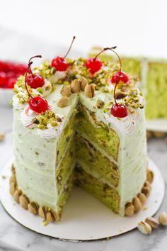 Pistachio Dream Cake Photo
