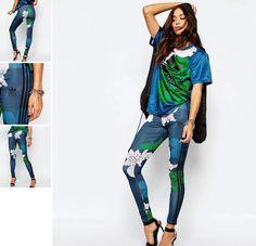 Colanti Cu Imprimeu Floral Floral, Adidas, Flowers, Flower