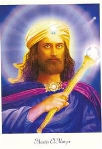 El Moyra, ascended master.  May have been the favorite of Elizabeth Clare Prophet, founder of Church of Universal Triumphant, aka Summit Lighthouse.