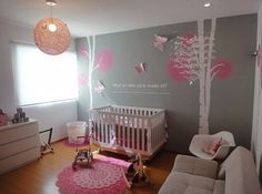 Está esperando uma menina? Separei algumas dicas e 41 inspirações para decoração de quarto de bebê menina! Que cores usar, temas e muito mais, confira aqui!