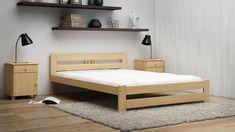 Wenn jemand schlichte Eleganz und einfache Design liebt, sollte unser Bett wählen 🙂🙂  Heute zeigen wir zeitgemäßes Bett mit stylishen Design!   #ÖkologischesHolzbett #Bett #Holzbett #Schlafzimmer