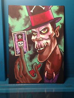 """Dr. Facilier the Shadow Man from Disney's """"The Frog Princess"""""""