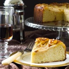 Pear Almond Cake - this cakes is gluten-free, dairy-free and grain-free.  And delicious!
