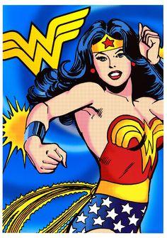 Mi consentida #wonderwoman nuevamente en el cine, aunque sería mejor en cómic