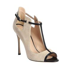 T-Strap Shoes to Boost Your Fall Style Sergio Rossi - Suede & Leather T-Strap PumpsSergio Rossi - Suede & Leather T-Strap Pumps T Strap Pumps, T Strap Shoes, Ankle Straps, Sergio Rossi, Pretty Shoes, Beautiful Shoes, Beautiful Beautiful, Hot Shoes, Shoes Heels