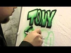 Airbrush Brothers- Airbrush lettering