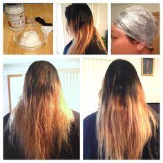DIY Coconut Oil hair treatment!