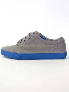 Vans shoes 106 Vulcanized (Grey / Blue)  Want so bad!!!!