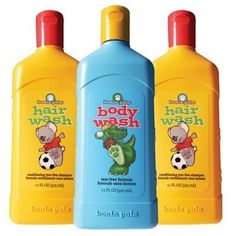 Melaleuca kids body & hair wash- the only bath products I have found that don't irritate my kid's sensitive skin