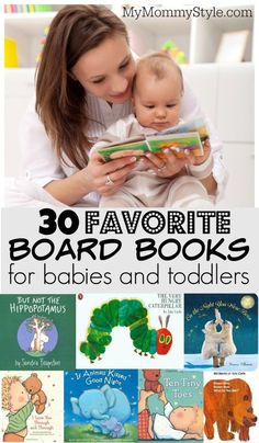 30 favorite board books for babies and toddlers