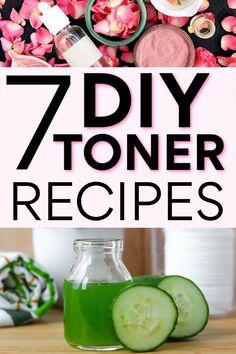 DIY Toner: 7 FREE Homemade Skin Toner Recipes