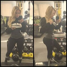 bbbceca76c Khloé Kardashian Shares a Photo from Her Waist  Snatching  Work Out