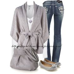 Untitled #137 by stay-at-home-mom on Polyvore featuring Ralph Lauren, Splendid, Miss Me and Accessorize