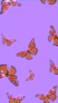 Iphone Wallpaper Tumblr Aesthetic, Aesthetic Pastel Wallpaper, Aesthetic Wallpapers, Butterfly Wallpaper Iphone, Iphone Background Wallpaper, Trippy Wallpaper, Retro Wallpaper, Cute Patterns Wallpaper, Homescreen Wallpaper