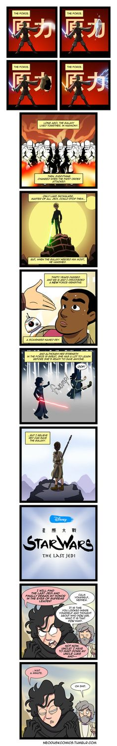 Come follow me on tumblr. Korra Comics: Steven Universe Comics: Star Wars and other comics: I had this idea for a while, but after they announced the title for Episode 8, I finally had to do it. Ho...