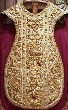 NEG011-10  Chasuble  Dutch  Produced by Paulus Sutorius, Amsterdam  Date: 1858