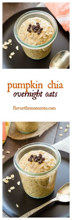 pumpkin-chia-overnight-oats-collage-flavorthemoments.com - Flavor the Moments