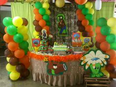 1000 images about la alvarade a kids on pinterest for Decoracion con globos plantas contra zombies
