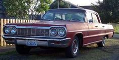 Like the 1964 Belair we had -- ours was two-tone -- cream over burgundy