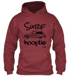Men's Surf Hooptie LA Hoodie