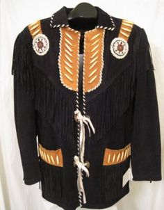 BEAUTIFUL Western Suede Leather Jacket!
