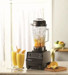 Vitamix 1782 TurboBlend, 2-Speed  Turbo Blend 2 Speed   With a powerful motor, intuitive High/Low control, and hardened, stainless-steel blade, the TurboBlend Two Speed efficiently processes whole fruits and vegetables with predictable consistency. Paired with Recipes for the TurboBlend Two Speed, this package makes it easy to add fresh, all-natural ingredients to your daily menus.     Create smoothies, hot soups, and frozen desserts in a single machine   64-ounce container is perfec..