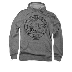 Parks And Recreation Hoodie City Seal Silver Sweatshirt Hoody - Parks And Recreation City Seal Shirts