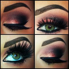 I wish I could do my makeup like this! #TheStruggle