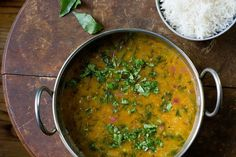 How to Make Indian Sambar at Home on Food52.  Will need to find the spices for this.  Don't have them at home