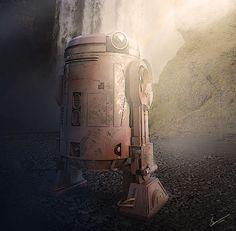R Series Astromech Droid prototype