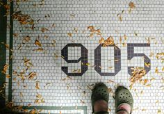 Tile in the wild for all seasons 🍂🍃🍂🍁 Vestibule, Typography, Lettering, Humble Abode, Mosaic Tiles, Landscape Architecture, Interior Inspiration, New Homes, Seasons