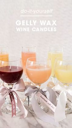 Wine Bottle Candles, Candle Favors, Glass Candle, Candle Wicks, Candle Art, Wine Bottle Crafts, Bottles And Jars, Glass Bottles, Wine Making