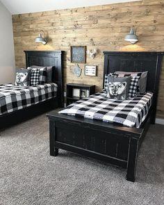 Our Faux Farmhouse ◊ Boys Bedroom Design