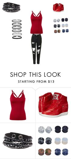 """""""let's get dumb"""" by vyesica-yv on Polyvore featuring MICHAEL Michael Kors, Swarovski and D&M"""