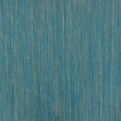 Brise Wallpaper A wide width textile wallcovering in blue and ecru.