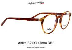 Airlite S2103 47mm DB2 Glasses, American, Eyewear, Eyeglasses, Eye Glasses