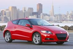 2012 Honda CRZ. I'd buy one of these if it wasn't a hybrid.