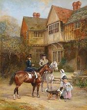 A Morning Ride~counted cross stitch pattern #669~Fine Art Horses Graph Chart