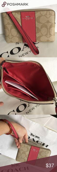 Coach Wristlet 100% Authentic Coach Wristlet, brand new!. Coach Bags Clutches & Wristlets