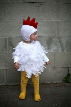 Diy chicken halloween costume