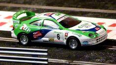 SCX 83560. Toyota Celica GT4. Rally El Corte Ingles 1996. José María Ponce-Gaspar León. #slotcar