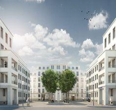 Mozartplatz, Frankfurt - Christoph Mäckler Architekten