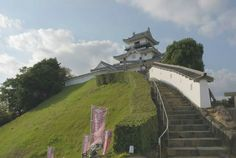 Kakegawa Castle, Japan.