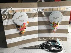 Inspired Stamping by Janey Backer: June Paper Pumpkin, Stampin' Up!