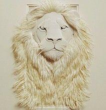 Amazing Wild Life Paper Art Sculptures by Calvin Nicholls.    http://calvinnicholls.com/