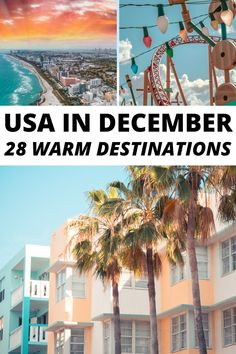 USA in December, warm places to travel in winter USA, warm winter USA travel destinations, winter USA travel, winter USA vacations, where to travel in USA in December, places to visit in December in USA, winter escapes USA, Florida keys, Florida beaches, winter travel destinations in the United States of America, popular winter US destinations, beautiful places in the USA, USA vacation places, USA winter sun, winter break vacation ideas, North America Christmas travel ideas Best Places To Travel, Vacation Places, Places To Visit, Vacation Ideas, Vacations, Florida Vacation, Florida Keys, Florida Beaches, Winter Beach