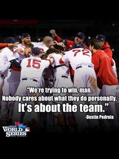 Dustin Pedroia - what it takes to be 2013 World Series Champions