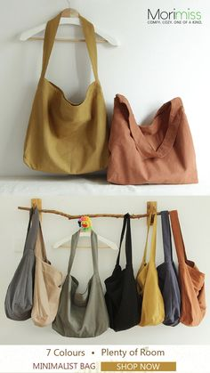 You're obsessed with this bag! #casual #ShoulderBags #Plainbag #teacherbag Diy Bags Tutorial, Sacs Design, Origami Bag, Diy Sac, Fabric Bags, Hobo Handbags, Handmade Bags, Canvas Tote Bags, Textiles